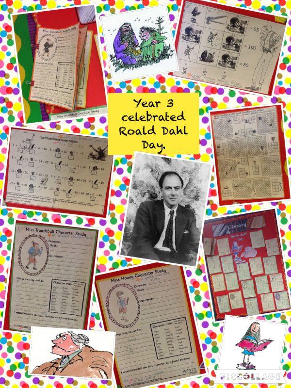 Year 3 Roald Dahl Day