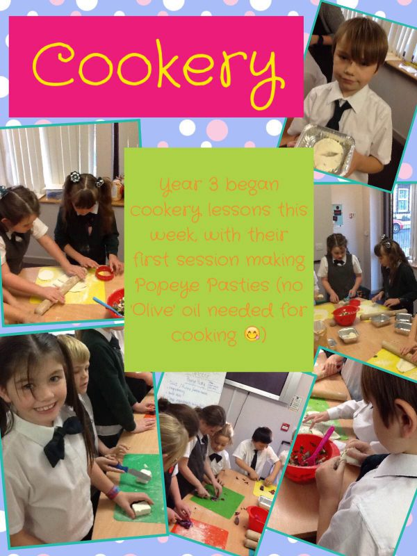 year 3 cookery 25.11.16