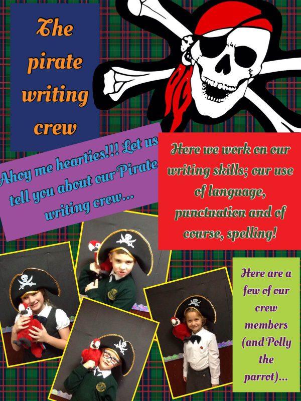 year 3 pirate writing 25.11.16